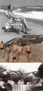 Les dirigeants chinois Mao Zedong, Deng Xiaoping et Zhou Enlai profitent de Beidaihe comme lieu de villégiature estival